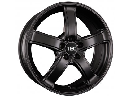 Alu kola TEC Speedwheels AS1 18x8J 5x120 ET20 CB74,1 Schwarz-Seidenmatt