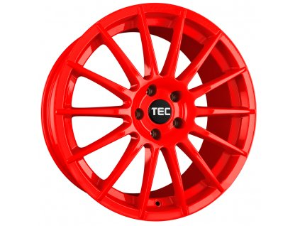 Alu kola TEC Speedwheels AS2 17x7,5J 5x110 ET38 CB65,1 red