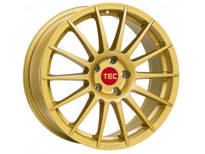 Alu kola TEC Speedwheels AS2 17x7,5J 5x112 ET45 CB72,5 gold