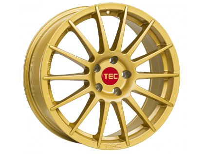 Alu kola TEC Speedwheels AS2 18x8J 5x112 ET45 CB72,5 gold