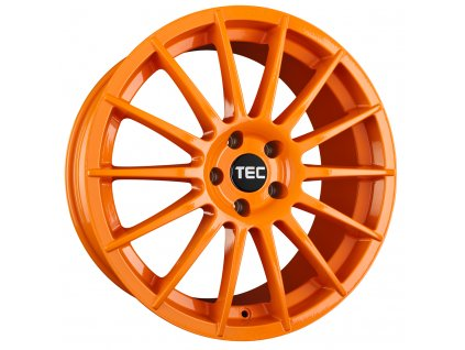 Alu kola TEC Speedwheels AS2 18x8J 4x108 ET18 CB65,1 race-orange
