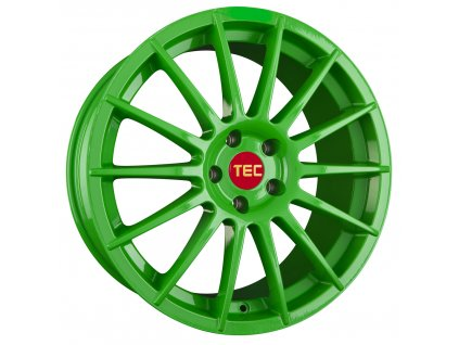 Alu kola TEC Speedwheels AS2 18x8J 4x108 ET18 CB65,1 race-light-green