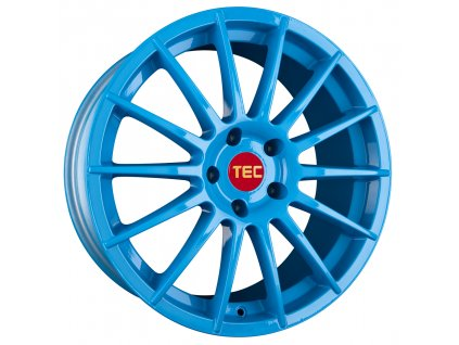 Alu kola TEC Speedwheels AS2 18x8J 4x108 ET18 CB65,1 smurf-light-blue