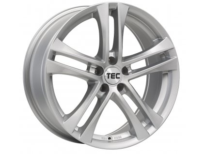 Alu kola TEC Speedwheels AS4 16x7J 5x114,3 ET45 CB72,5 bright-silver