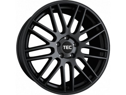 Alu kola TEC Speedwheels GT1 16x7J 4x98 ET34 CB58,1 Schwarz-Seidenmatt