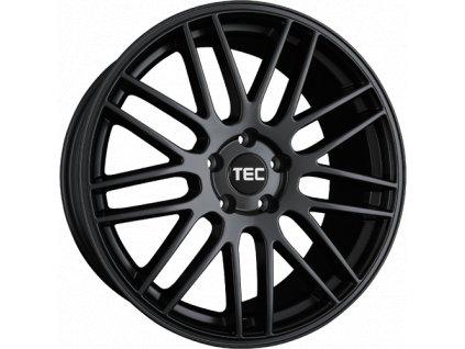 Alu kola TEC Speedwheels GT1 17x8J 5x108 ET35 CB72,5 Schwarz-Seidenmatt