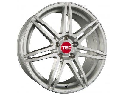 Alu kola TEC Speedwheels GT2 17x7,5J 5x114,3 ET45 CB72,5 sterling-silver