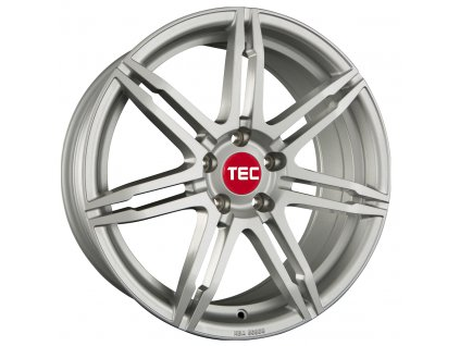 Alu kola TEC Speedwheels GT2 17x7,5J 5x115 ET40 CB70,2 sterling-silver