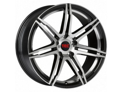 Alu kola TEC Speedwheels GT2 17x7,5J 5x120 ET35 CB72,6 black-polished