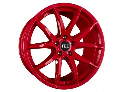 Alu kola TEC Speedwheels GT3 18x8J 5x114,3 ET45 CB72,5 tornado-rot