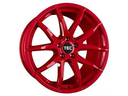 Alu kola TEC Speedwheels GT3 19x9,5J 5x112 ET30 CB72,5 tornado-rot
