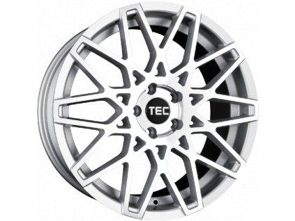 Alu kola TEC Speedwheels GT4 19x8,5J 5x120 ET30 CB72,5 silver-polished