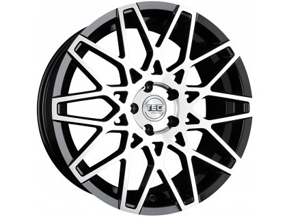 Alu kola TEC Speedwheels GT4 19x8,5J 5x120 ET40 CB72,5 black-polished