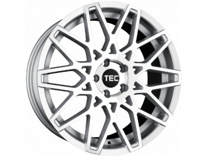 Alu kola TEC Speedwheels GT4 19x8,5J 5x120 ET40 CB72,5 silver-polished