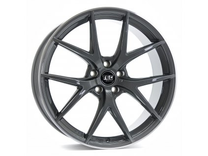 Alu kola TEC Speedwheels GT6 22x10J 5x130 ET50 CB71,5 dark-grey-polished-lip