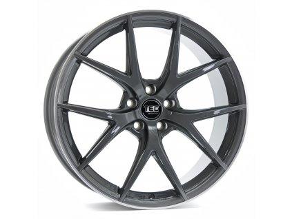 Alu kola TEC Speedwheels GT6 22x10J 5x108 ET35 CB63,4 dark-grey-polished-lip