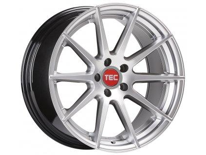 Alu kola TEC Speedwheels GT7 21x10,5J 5x120 ET38 CB74,1 hyper-silver