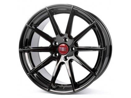 Alu kola TEC Speedwheels GT7 21x10,5J 5x130 ET52 CB71,6 black-glossy
