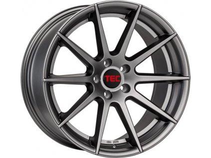 Alu kola TEC Speedwheels GT7 21x10,5J 5x130 ET52 CB71,6 gun-metal