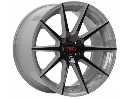 Alu kola TEC Speedwheels GT7 19x9,5J 5x120 ET38 CB72,6 black-grey 2-tone