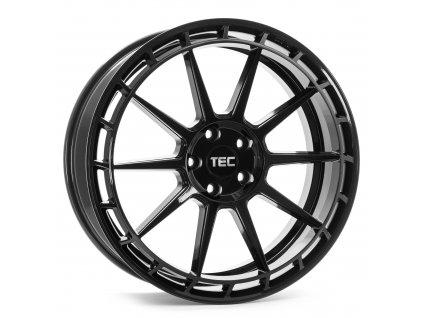 Alu kola TEC Speedwheels GT8 18X8J 5x120 ET35 CB72,6 black-glossy