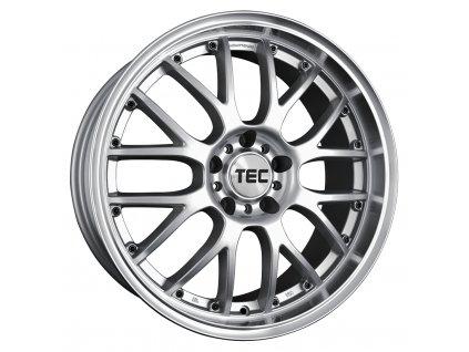 Alu kolaTEC Speedwheels GT-AR1 17x7J 4x108 ET40 CB63,4 silver-polished-lip