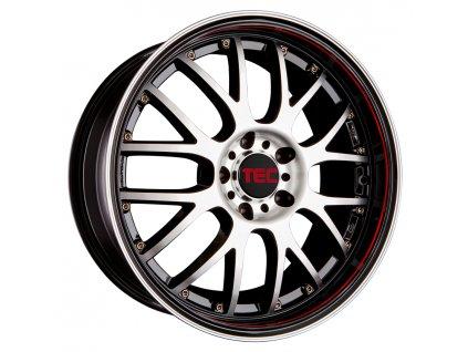 Alu kolaTEC Speedwheels GT-AR1 17x7J 4x108 ET40 CB63,4 black-polished