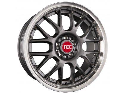 Alu kolaTEC Speedwheels GT-AR1 17x7J 4x108 ET40 CB63,4 dark-grey-polished-lip