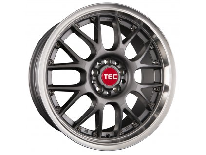 Alu kolaTEC Speedwheels GT-AR1 17x8J 5x120 ET35 CB72,6 dark-grey-polished-lip