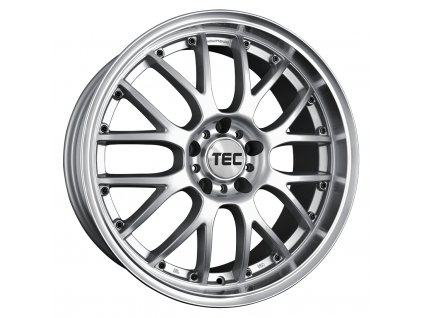 Alu kolaTEC Speedwheels GT-AR1 19x9,5J 5x120 ET20 CB74,1 silver-polished-lip