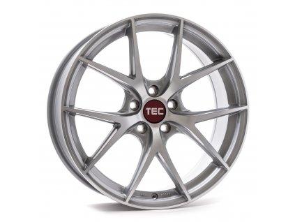 Alu kola TEC Speedwheels GT6 EVO  5x120 ET38 CB74,1 silver-polished