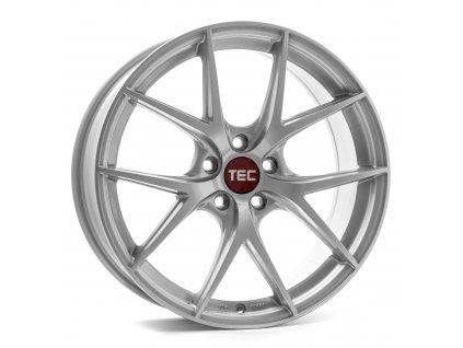 Alu kola TEC Speedwheels GT6 EVO  5x120 ET38 CB74,1 bright-silver