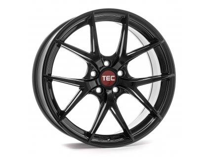 Alu kola TEC Speedwheels GT6 EVO  5x120 ET35 CB74,1 black-glossy