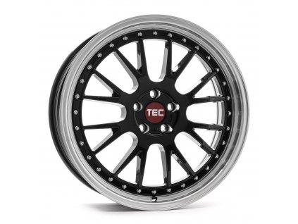 Alu kolaTEC Speedwheels GT EVO 18x8J 5x112 ET45 CB72,5 black-polished-lip