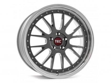 Alu kolaTEC Speedwheels GT EVO 18x8J 5x114,3 ET45 CB72,5 titan-polished-lip