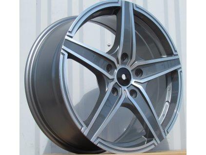 Alu kola design Chrysler 18x8 5x127 ET53 7.6 šedé