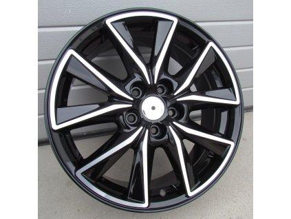 Alu kola Mazda 18x7.5 5x114.3 ET50 67.1 Black Half Matt