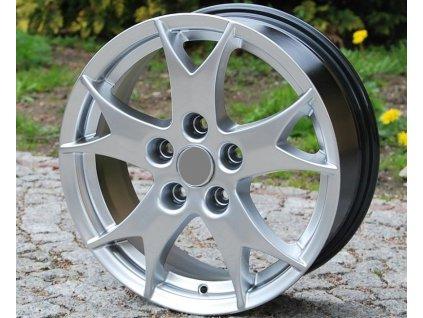 Alu kola design Mitsubischi 16x6,5 5x114,3 ET46 67,1 stříbrné