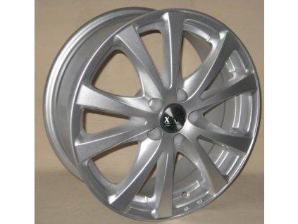 Alu kola design RS Wheels 15x6 4x100 ET38 67,1 stříbrné