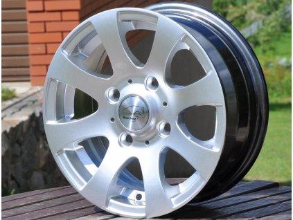 Alu kola design RS Wheels 13x5,5 4x100 ET35 73,1 stříbrné