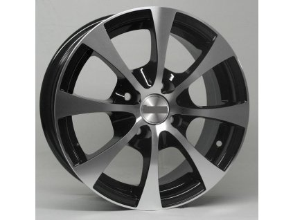 Alu kola design RS Wheels 13x5,5 4x100 72.56 ET35 černé