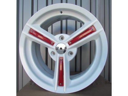 Alu kola design Smart 16x7,5 3x112 ET30 57,1 bílé