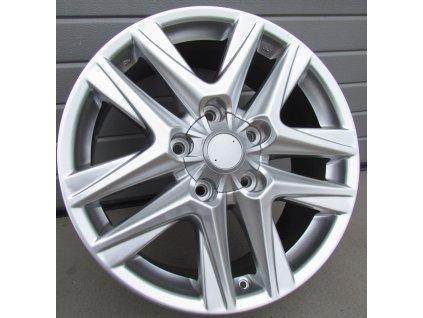 Alu kola Toyota  5x150 ET60 110 Silver Shining