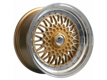 Alu kola Forzza Malm 7X15 4X100/114,3 ET25 73,1 Gold/LM