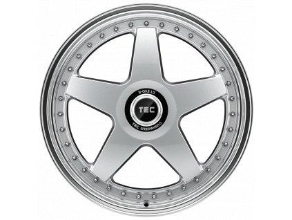 Alu kola TEC Speedwheels GT EVO R 19x8,5J 5x112 ET25 CB72,5 hyper-silver-polished-lip