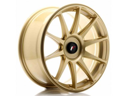 Alu kola JAPAN RACING JR11 18x8,5 ET35-40 BLANK Gold