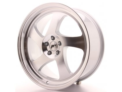 Alu kola Japan Racing JR15 19x8,5 ET35-40 BLANK Silver Machined Face