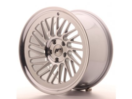Alu kola Japan Racing JR27 18x9,5 ET35 5x120 Silver Machined Face
