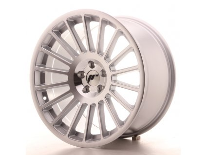 Alu kola Japan Racing JR16 18x9,5 ET40 5x112 Silver Machined Face