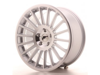 Alu kola Japan Racing JR16 18x8,5 ET35 5x100 Silver Machined Face